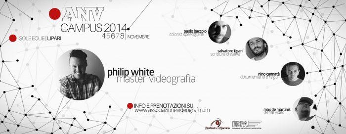 Philip announced as Master Videographer 2014 // Associazione Nazionale Videografi
