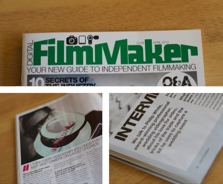 Digital Film Maker Magazine // Feature on Philip