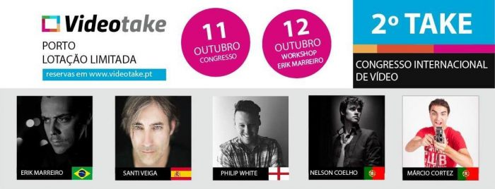 Philip Announced as Keynote Speaker at Videotake Portugal