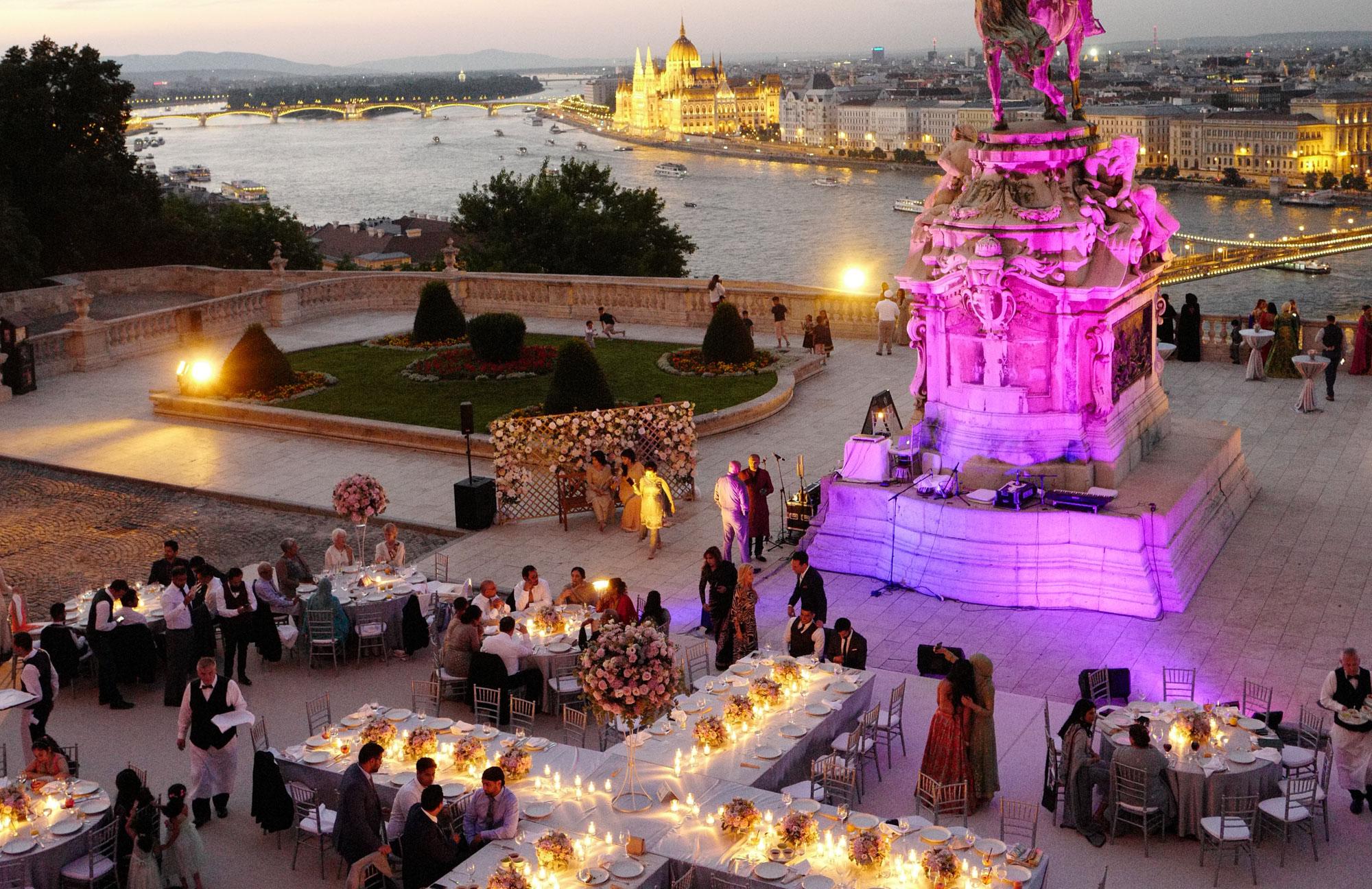 Buda Castle Wedding Video Budapest by Philip White