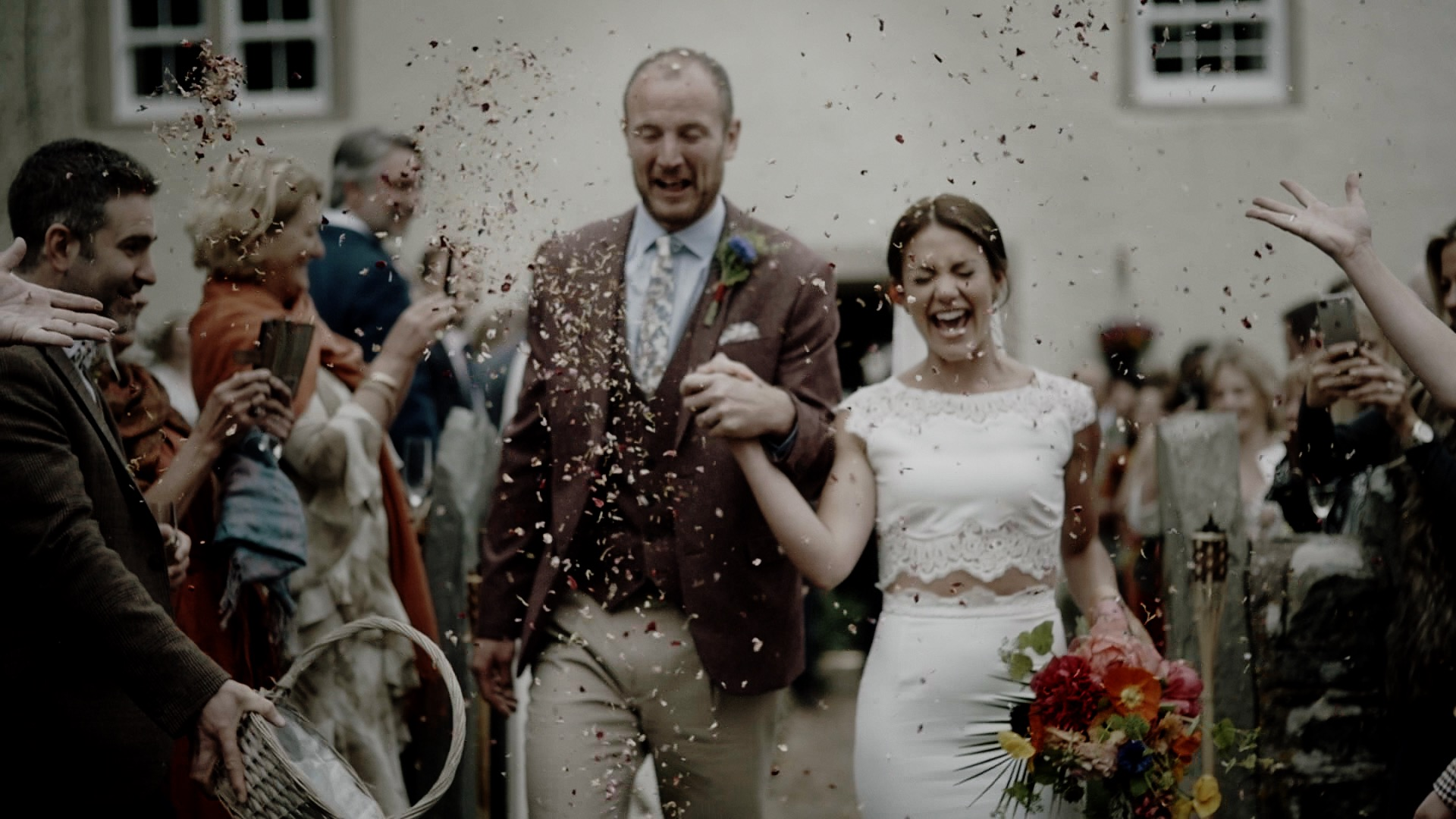 Ben and Francesca's Low Hall The Lakes Wedding Video