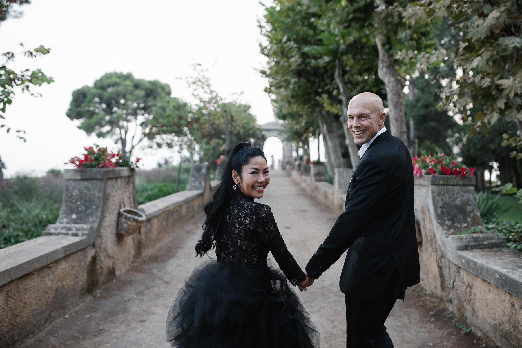 Villa Cimbrone Wedding Photographer Ravello