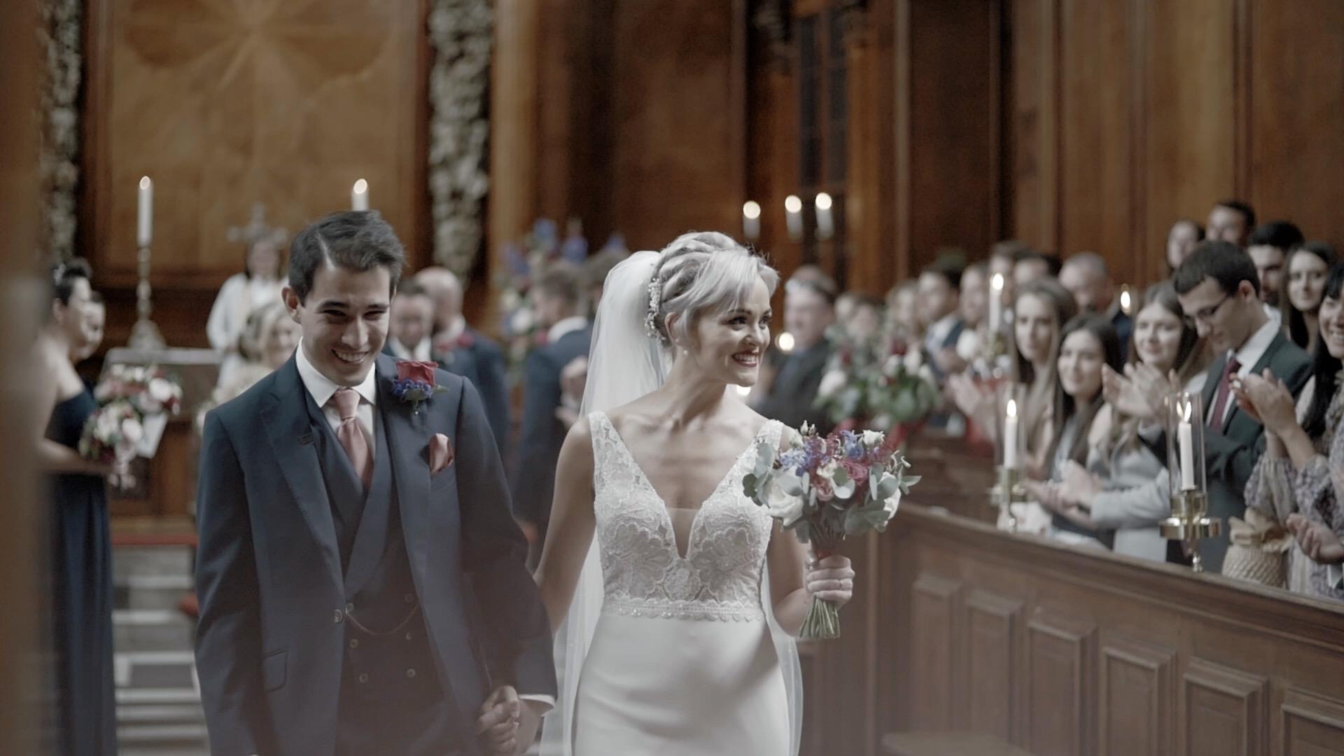 Trinity College Wedding Oxford
