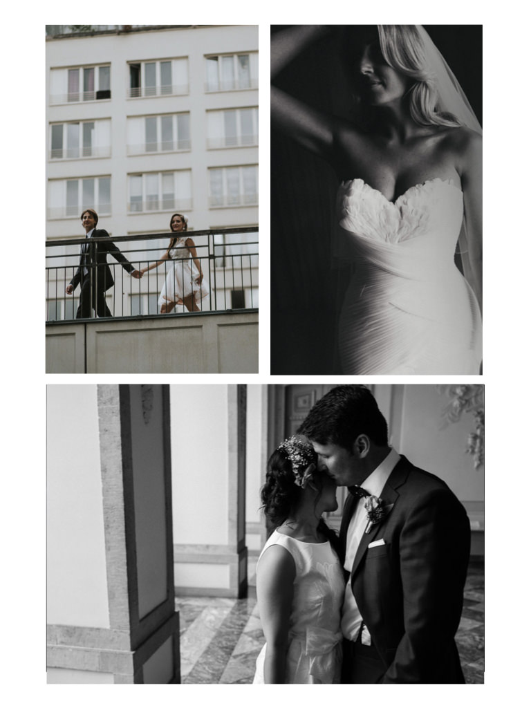 a selection of couples together taken by wedding videographer Philip White.